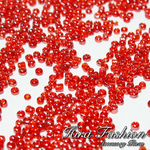 Glass Beads Size 2 mm.(No.12/0), Transparent Colors
