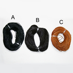Round Leather Bunch 1 - 6 mm